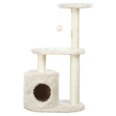 TRIXIE Pet Products Casta Cat Tree, Cream by TRIXIE Pet Products