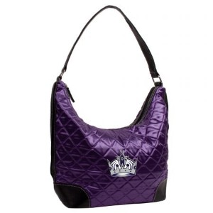 NHL Los Angeles KingsチームカラーQuilted Hobo