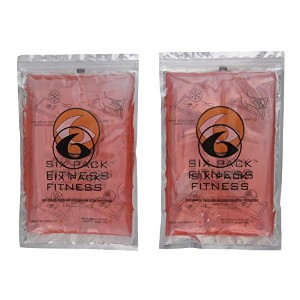 Fitness Large Gel Pack - Set of 2 (Red) by 6 Pack Fitness