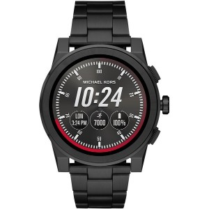 メンズ MICHAEL KORS ACCESS Grayson Touchscreen Smartwatch スマートウォッチ ブラック
