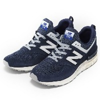 【NEW BALANCE】 ニューバランス MS574BB(D) 17FW NAVY(BB)