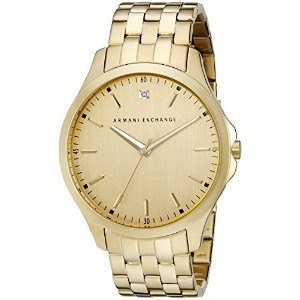 Armani Exchange アルマーニ エクスチェンジ メンズ 時計 腕時計 Men's AX2167 Analog Display Analog Quartz Gold Watch