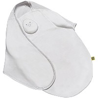 Nested Bean 2-in-1 Zen Swaddle Classic - Pearl White by Nested Bean