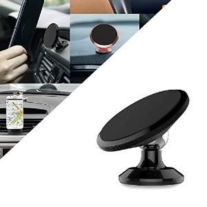 Magnetic Phone Car Mount,Universal 360° Rotation Car Dashboard Cell Phone Holder,Mobile Phone...