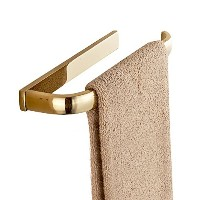 Leyde Solid Brass Towel Ring Lavatory Home Decor Clothes Hanger Towel Racks and Holders Space Saver...