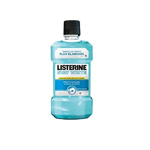 Listerine Stay White Mouthwash 500ml by Listerine