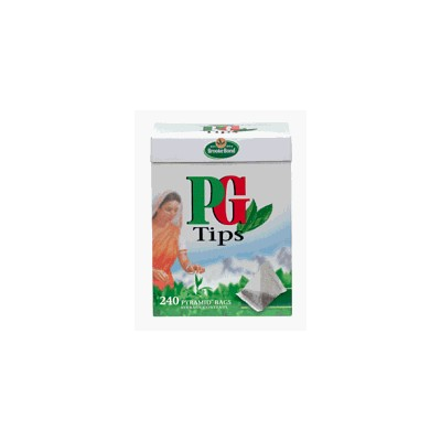 PG Tips Black Tea Pyramid Tea Bags - 240 Count by PG Tips