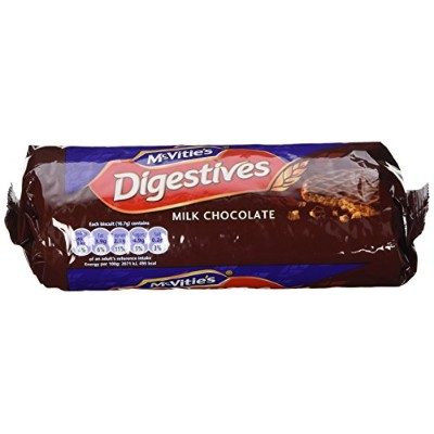 McVitie's Milk Chocolate Digestives 10.5 oz(Pack of 3) by McVitie's