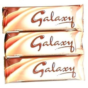 Galaxy Milk Chocolate Bar 46gr (1.6oz)-pack 3 Bars by Mars by Mars
