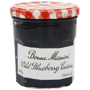 Bonne Maman Wild Blueberry Conserve 370 g (Pack of 6)