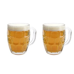 Libbey Dimple Stein Beer Mug - 19.25 oz w/ Pourer by Libbey