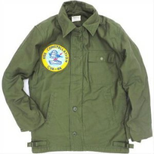 SESSLER(セスラー)US NAVY 1970's A-2 DECK JACKET パッチ付