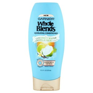 Garnier Whole Blends Hydrating Conditioner with Coconut Water  Vanilla Milk Extracts 12.5 FL OZ