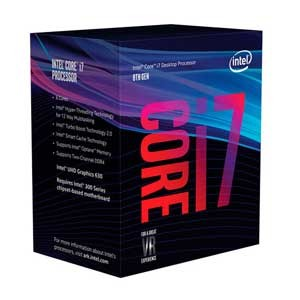 BX80684I78700 インテル Intel CPU Core i7 8700(Coffee Lake) [BX80684I78700]【返品種別B】