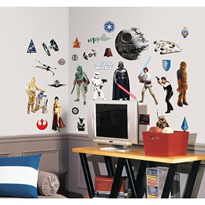 RoomMates rmk1586scsスター・ウォーズクラシックPeel and Stick Wall Decals