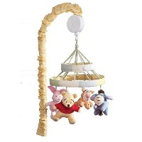 Disney Baby Peeking Pooh and Friends Musical Mobile by Disney