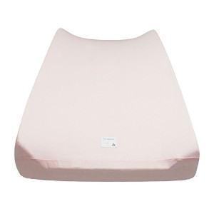 Burt's Bees Baby Solid Changing Pad Cover, Blossom by Burt's Bees Baby