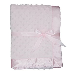 LUXEHOME Super Soft Microfiber Plush Baby Blanket (Pink) by LUXEHOME