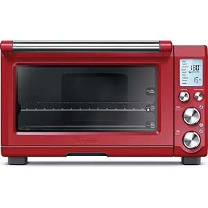 Breville BOV800CRNXL Smart Oven 1800-Watt Convection Toaster Oven with Element IQ (Cranberry) by...