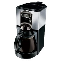 Mr. Coffee FTX45-1 12-Cup Programmable Coffeemaker, Black/Stainless  コーヒーメーカー シルバー 【並行輸入品】