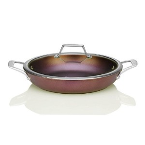 TECHEF - Art Pan Collection / Everyday Pan with Lid, Coated 5 times with New Teflon Select Non...