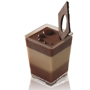 OnDisplay Onyx Disposable Dessert Cups - 1000 count