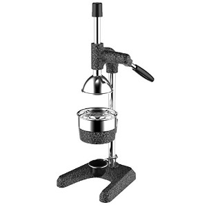 dexart Large heavy-duty Commercial手動ジューサーwith Dripカップ、シトラスジューサー手動、Commercial Citrus Juicer、オレンジ...