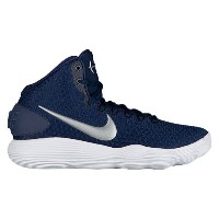 ナイキ メンズ バスケットボール シューズ・靴【Nike React Hyperdunk 2017 Mid】Midnight Navy/Metallic Silver/White
