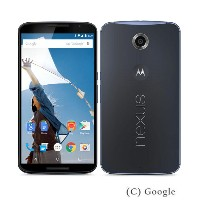 【中古】【安心保証】 Y!mobile Nexus6[32GB] ダークブルー