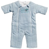 Baby Merlin's Magic Sleepsuit 6-9 months - Blue Microfleece by Baby Merlin's Magic Sleepsuit [並行輸入品]