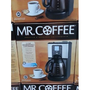 Mr。Coffeeコーヒーメーカー12- Cupプログラム可能by Mr。Coffee
