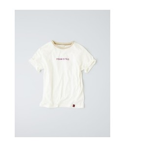 《Pream de toile》マシュふわ(R) ロゴデザインカットソー【マルシェ ド クリアインプレッション/MARCHE de CLEAR IMPRESSION レディス Tシャツ・カットソー...