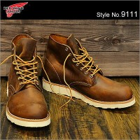 "RED WING レッドウィング 9111 CLASSIC WORK 6"" ROUND-TOE COPPER ROUGH&TOUGH カッパー ラフ アンド タフ 靴 ブーツ シューズ"