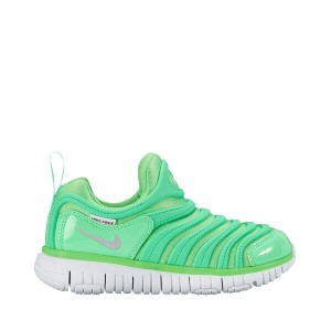 NIKE DYNAMO FREE PS(ナイキ ダイナモ フリー PS)RAGE GREEN/METALLIC SILVER-ELECTRO GREEN【キッズ スニーカー】17SU-I
