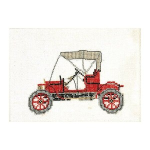 Thea Gouverneur クロスステッチ刺繍キットNo.1057 「Old Timer Opel 1909」(オールドタイマー スパイカー 1907 車) オランダ テア・グーヴェルヌール ...