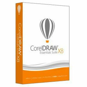 COREL CorelDRAW Essentials Suite X8 特別優待/アップグレード版 Win