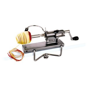 "【10%OFF】リンゴ皮むきスライサー ""KALI""Apple Peeler Professional"