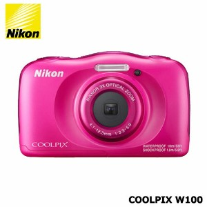 Nicon COOLPIX W100PK ピンク