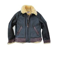 Y'2LEATHERワイツーレザーCOLOMAR MOUTON MOTORCYCLE JKT d.brown コロメールムートン×エコホース