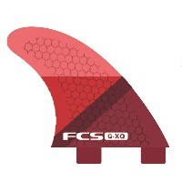 FCS FIN GX-Q RED SLICE REAR FINSET FCS クアッド用リア フィン 送料無料!
