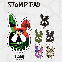 17-18 DEATH LABEL STOMP PAD BUNNY/DEATH LABEL デッキパッド/DEATHLABEL デッキパッド/デスレーベル デッキパッド/DEATH LABEL...