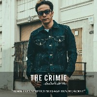 CRIMIE(クライミー)BORN FREE STRETCH SELVAGE DENIM JACKET【2017AUTUMN/WINTER先行予約】【送料無料】【キャンセル不可】【C1G5-CXBF...