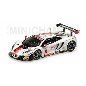 McLARENマクラーレン | MP4-12C GT3 TEAM ART GRAND PRIX N 11 24h SPA 2013 LECLERC - PARISY - SOUCEK | WHITE...