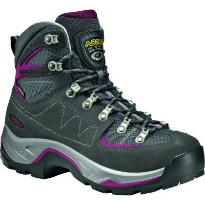(取寄)アゾロ レディース TPS Equalon GV バックパッキング ブーツ Asolo Women TPS Equalon GV Backpacking Boot Graphite/Red...