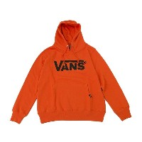 【VANSアパレル】 ヴァンズ パーカー VANS LOGO BASIC HOODY VANS-HD02ABC ORANGE