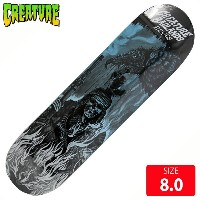 CREATURE クリエーチャー デッキ BACK TO THE BADLANDS REYES DECK 8.0 CAD-169 スケートボード スケボー skateboard