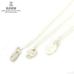 ハリム HARIM 正規販売店 ネックレス fragments of acanthus pendant set SVWH Necklace HRPM006.007 pairset WH