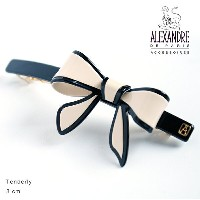 Alexandredeparis アレクサンドルドゥパリ【AA10-12688-03】Basic Basiques Lisere Barrette AutoNoeud Tenderly...