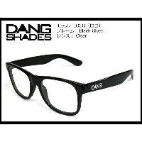 DANG SHADES LOCO Black Gloss x Clear(Anti-fog) vidg00219 クリアレンズ トイサングラス