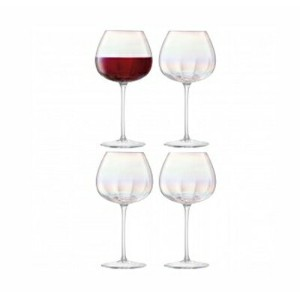 LSA PEARLRed Wine Glassレッドワイングラス【4コセット】